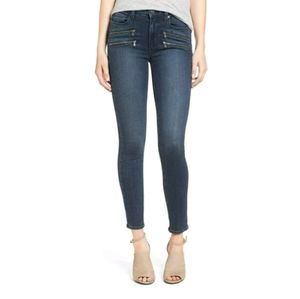 PAIGE Edgemont High Rise Skinny Jeans Size 24